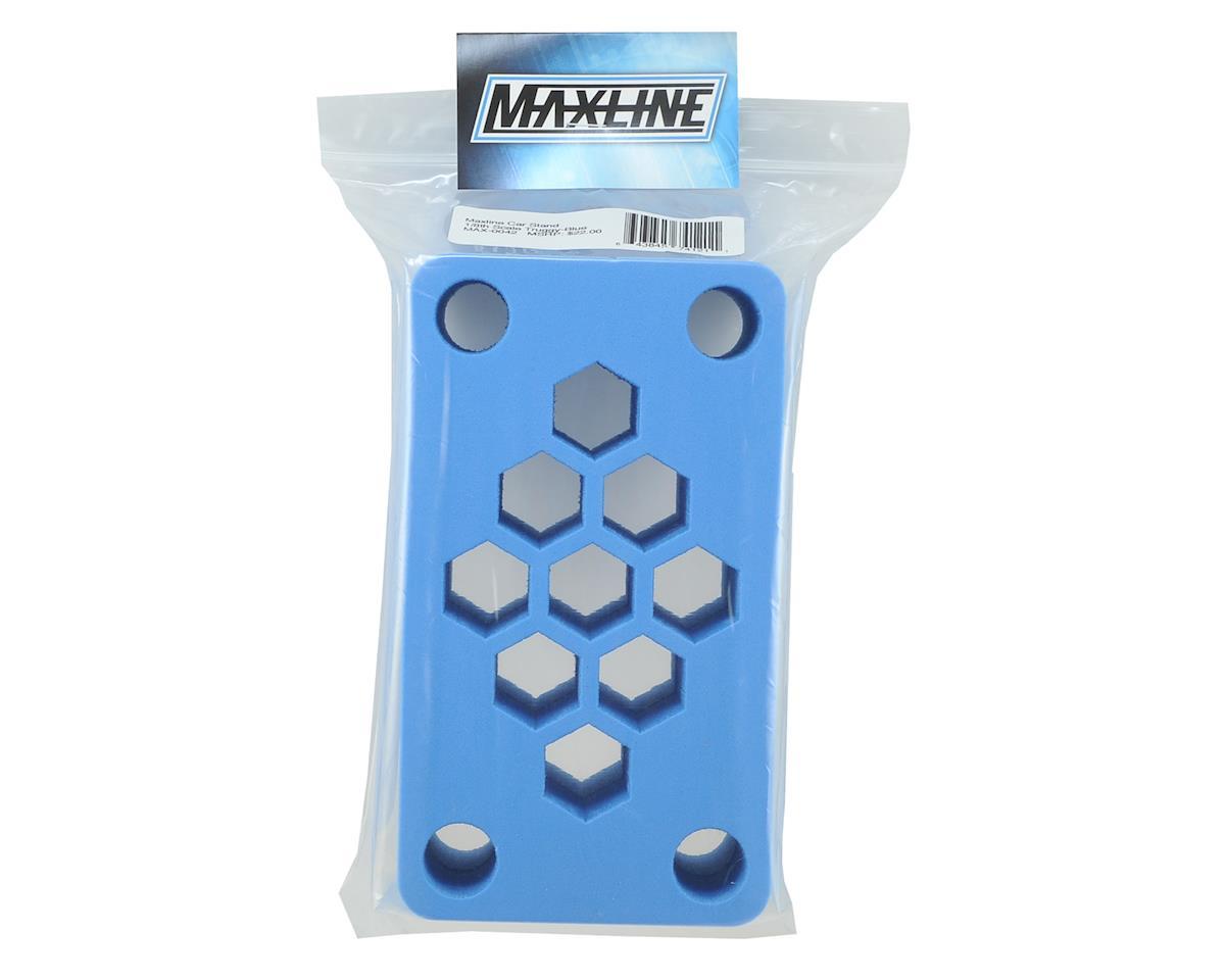 "Maxline R/C Products 8x4.5x4"" Foam Car Stand (Blue) (1/8 Truggy)"