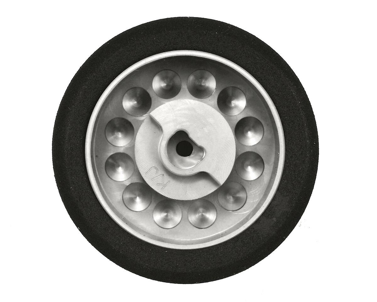 Maxline R/C Products KO/JR Standard Width Wheel (Silver)