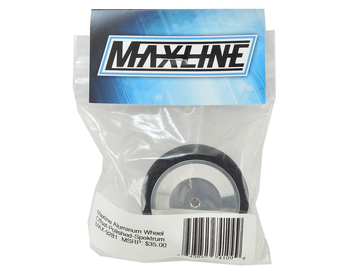 Spektrum Offset Width Wheel (Polished) by Maxline R/C Products