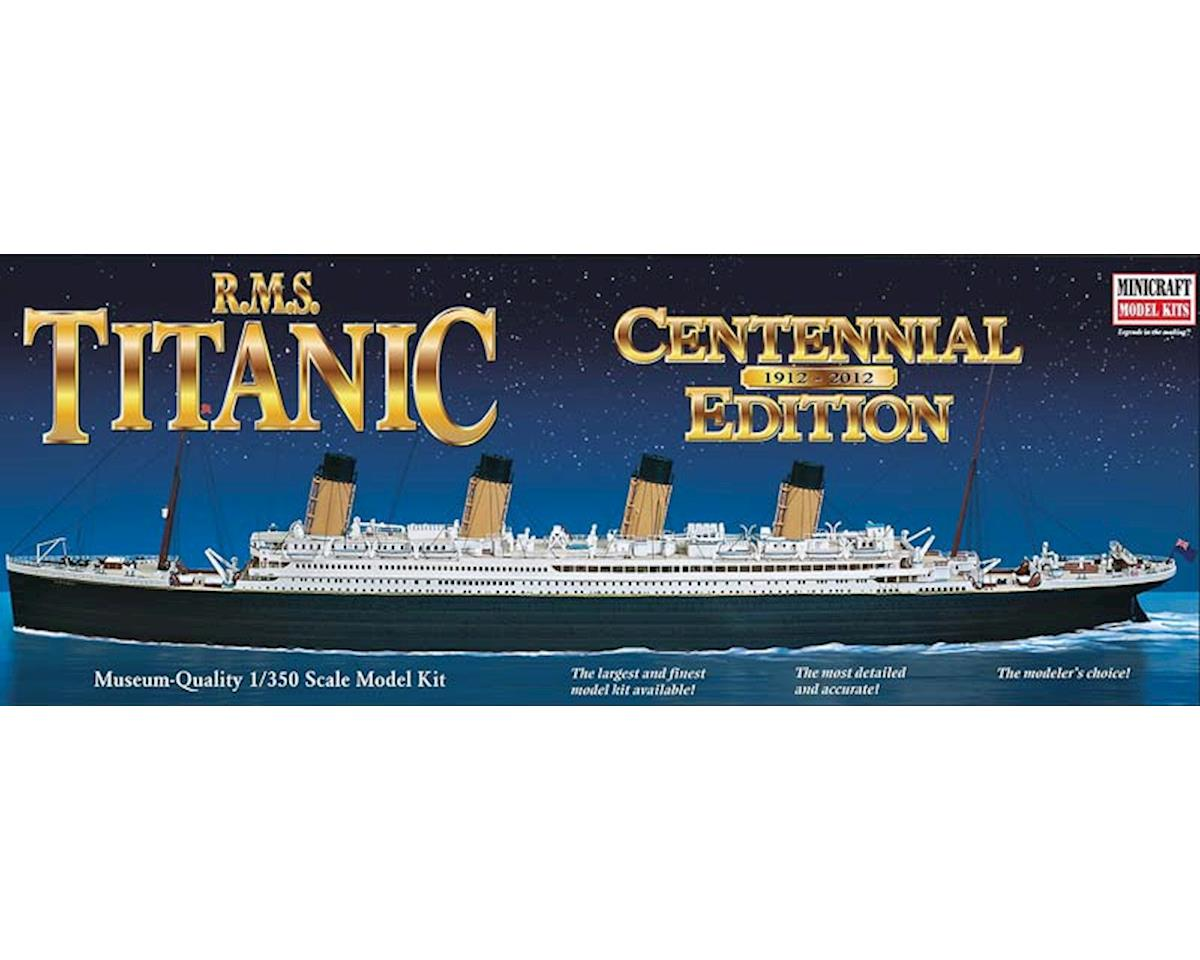 11318 1/350 RMS Titanic Centennial Edition by Minicraft Models
