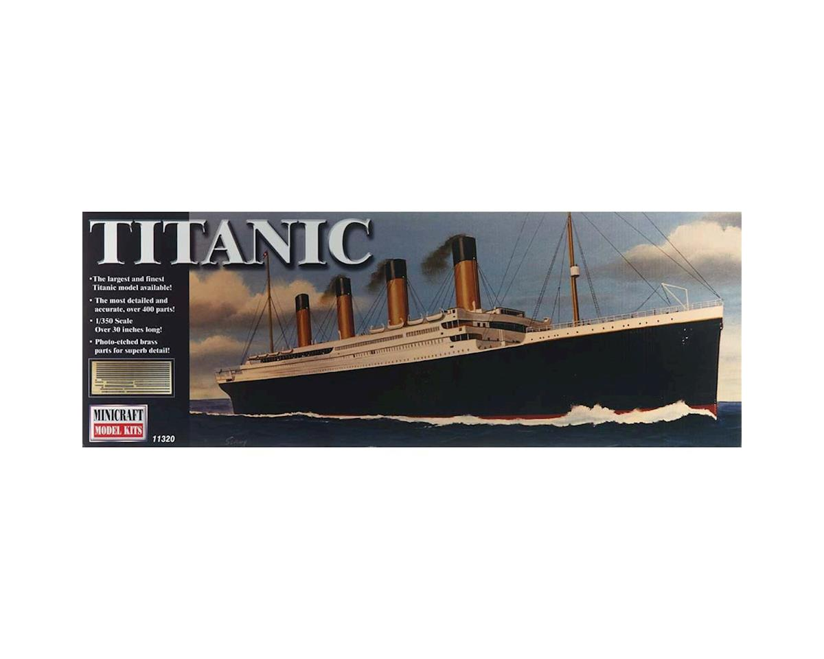 Minicraft Models 11320 1/350 RMS Titanic Deluxe w/Photo-Etched Parts