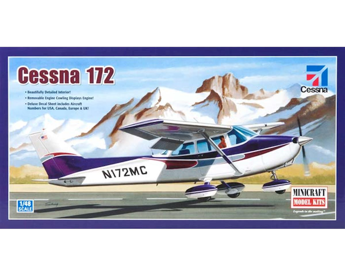 1/48 Cessna 172 Fixed Gear by Minicraft Models