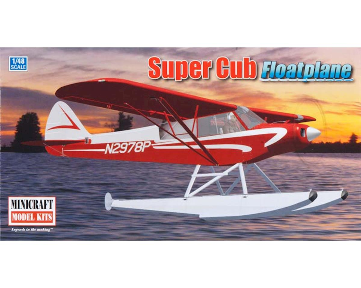 Minicraft Models 11663 1/48 Piper Super Cub w/Floats Bush Plane