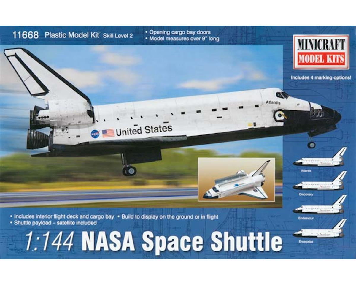 Minicraft Models 11668 1/144 NASA Space Shuttle