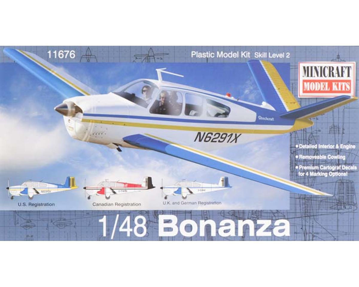 Minicraft Models 1/48 Beech Bonanza