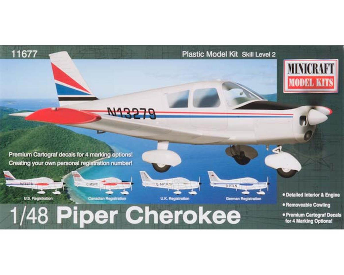 1/48 Piper Cherokee (Re-Issue) by Minicraft Models