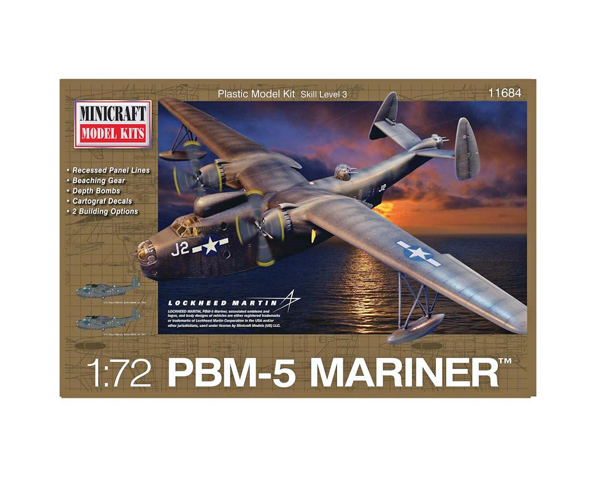 Minicraft Models 11684 1/72 PBM-5 USN WWII w/2 Marking Options