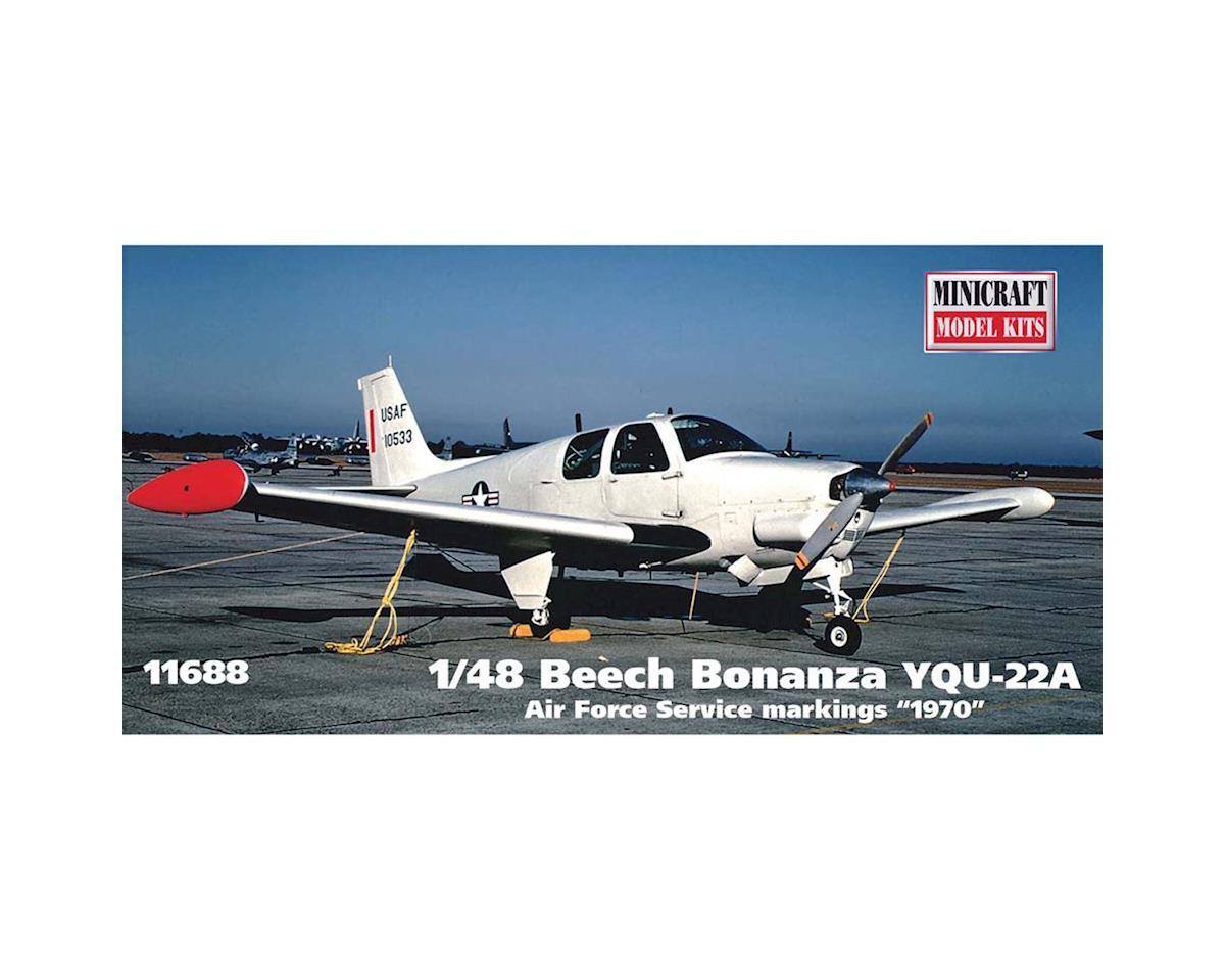 Minicraft Models 11688 1/48 YQU-22A Beech Bonanza AF Service 1970