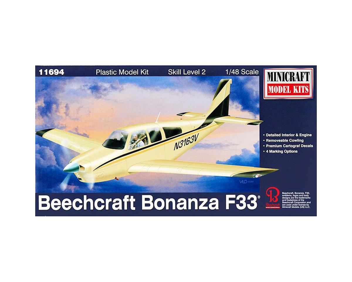 Minicraft Models 1/48 Bonanza F-33
