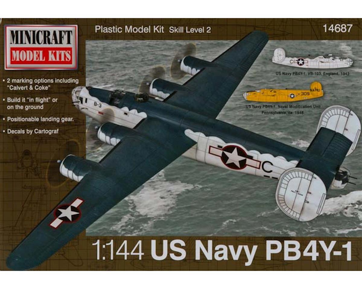 Minicraft Models 14687 1/144 PB-4Y USN/RAF