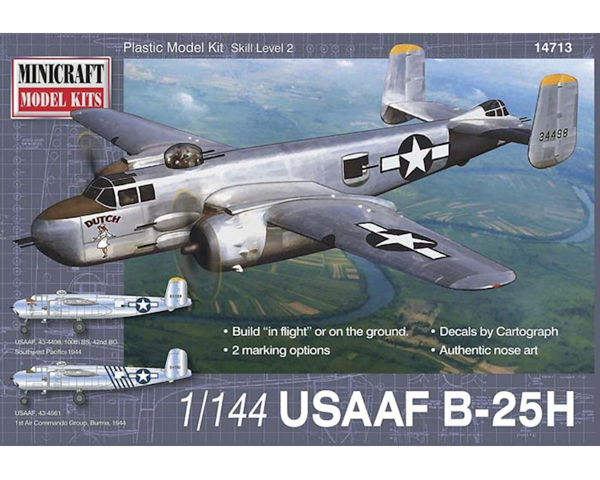 Minicraft Models 1/144 B-25H Usaaf W/2 Marking Options