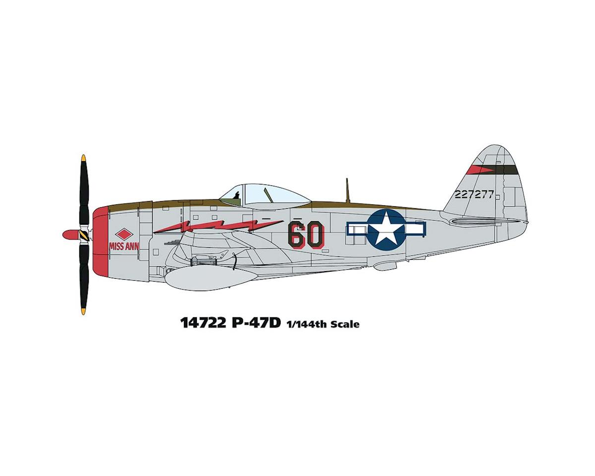 Minicraft Models 14722 1/144 P-47D USAAF w/2 Marking Options
