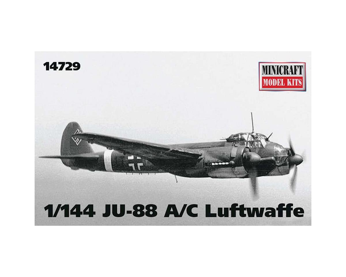 Minicraft Models 1/144 JU-88 A/C Luftwaffe