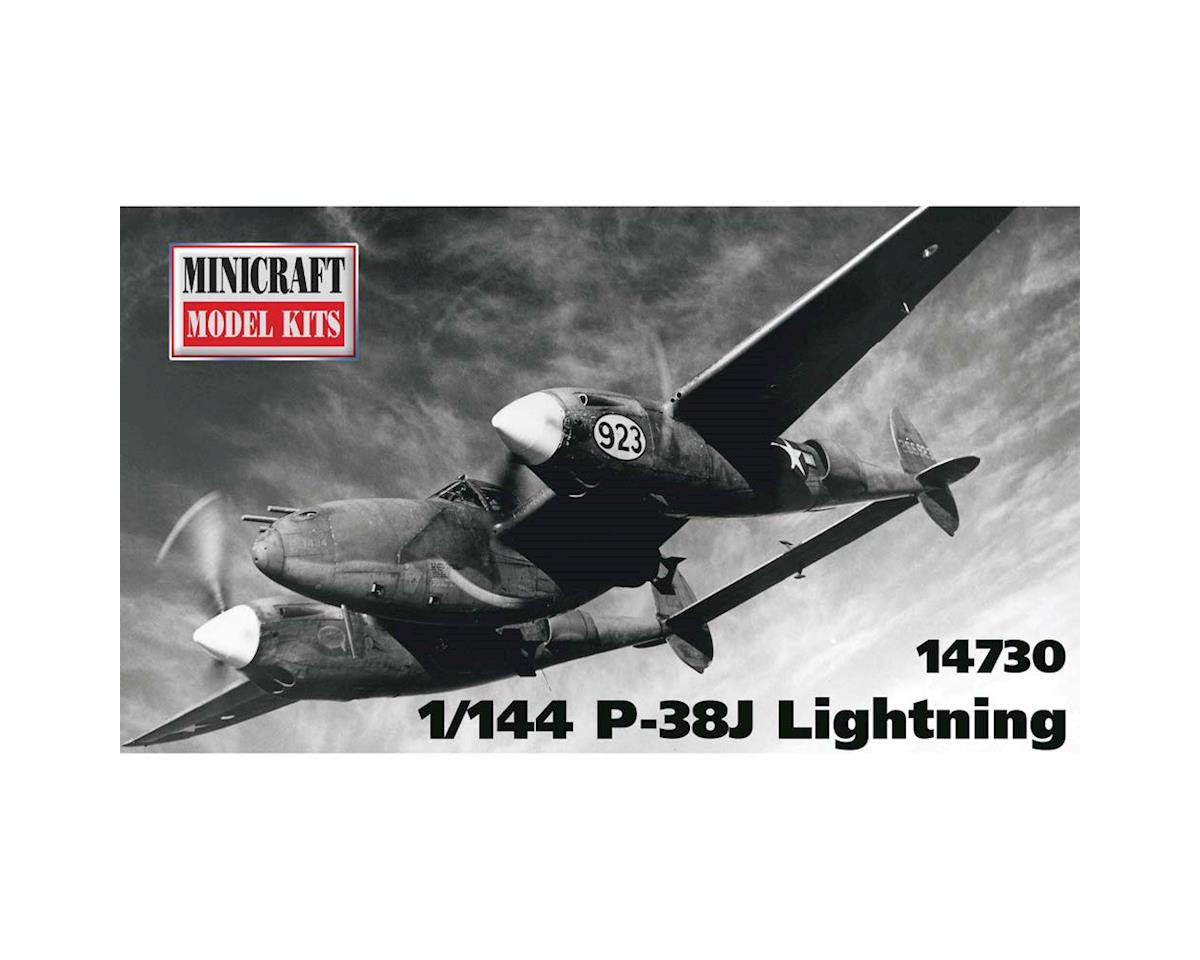 Minicraft Models 1/144 P-38J Lightning