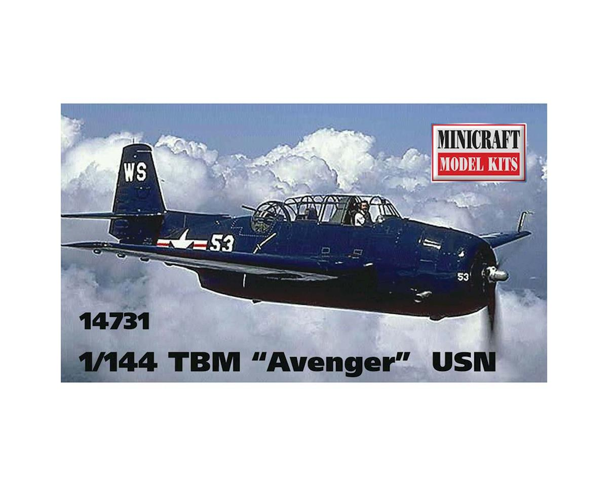 14731 1/144 TBM Avenger by Minicraft Models