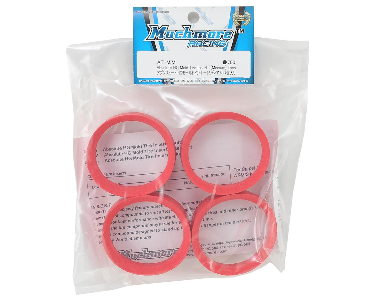 Muchmore Absolute HG Molded Tire Inserts (Red) (4) (Medium)