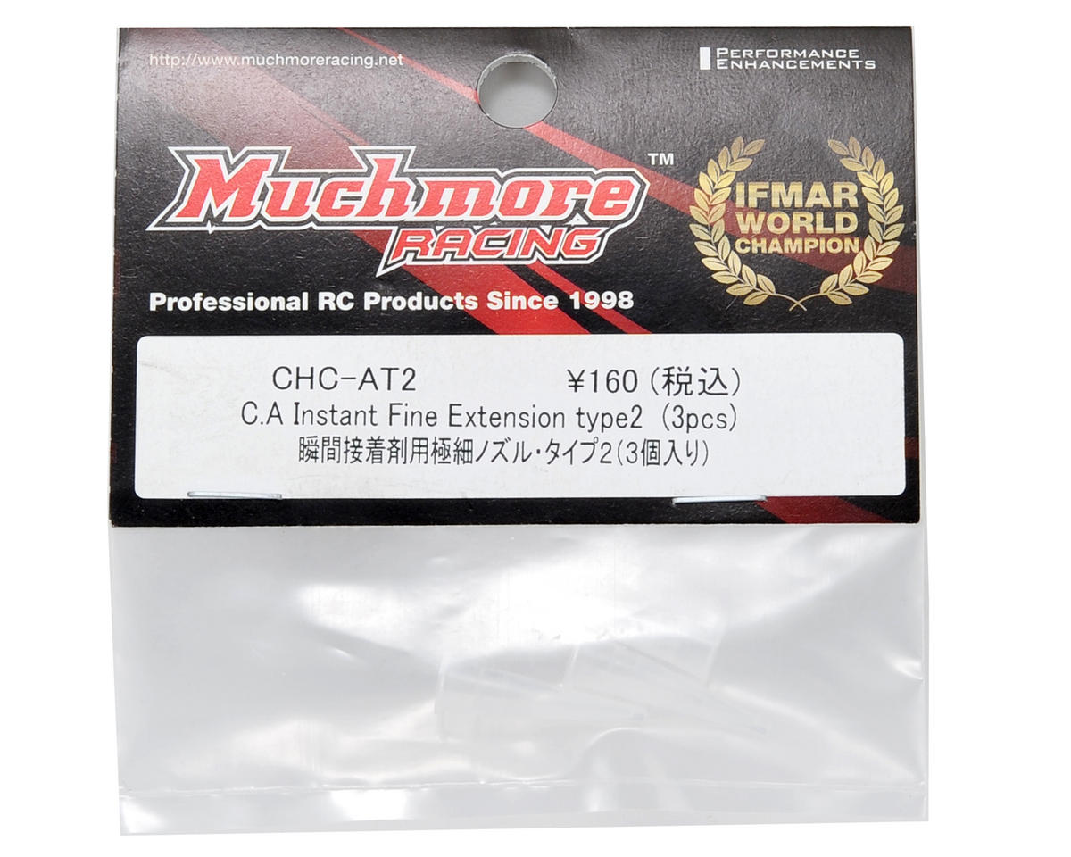 "Muchmore Racing Fine Tip ""Type 2"" Instant CA Bottle Extension (3)"