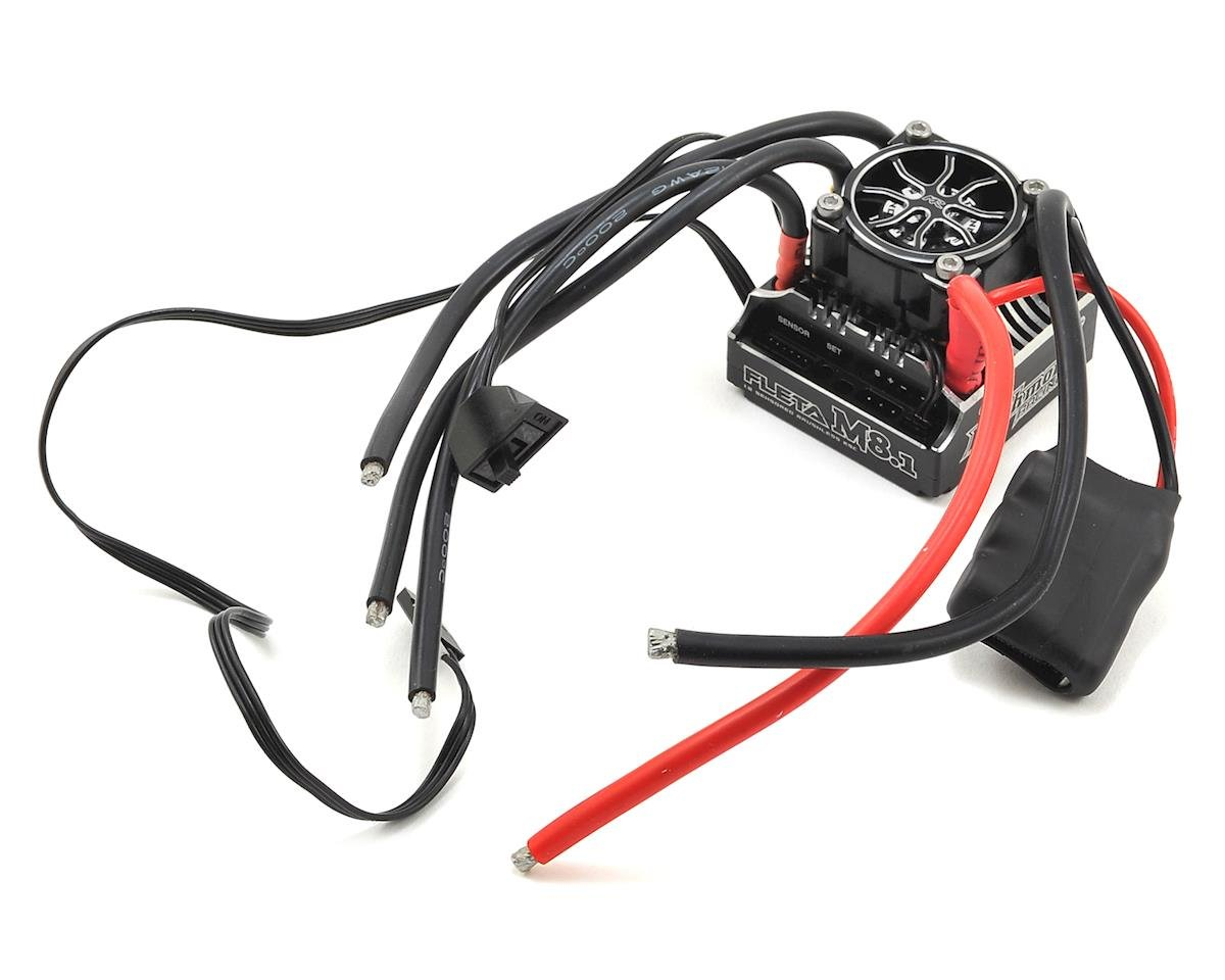 Muchmore Racing FLETA M8.1 180A Competition 1/8th Scale Brushless ESC (Black)