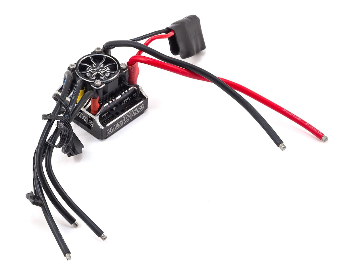 Muchmore Racing FLETA M8.1 180A 1/8 Brushless Sensored ESC (Black)