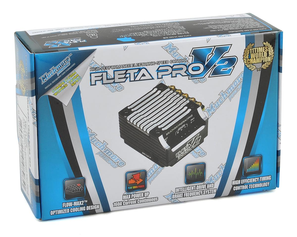 Muchmore FLETA PRO V2 Brushless ESC (Black)