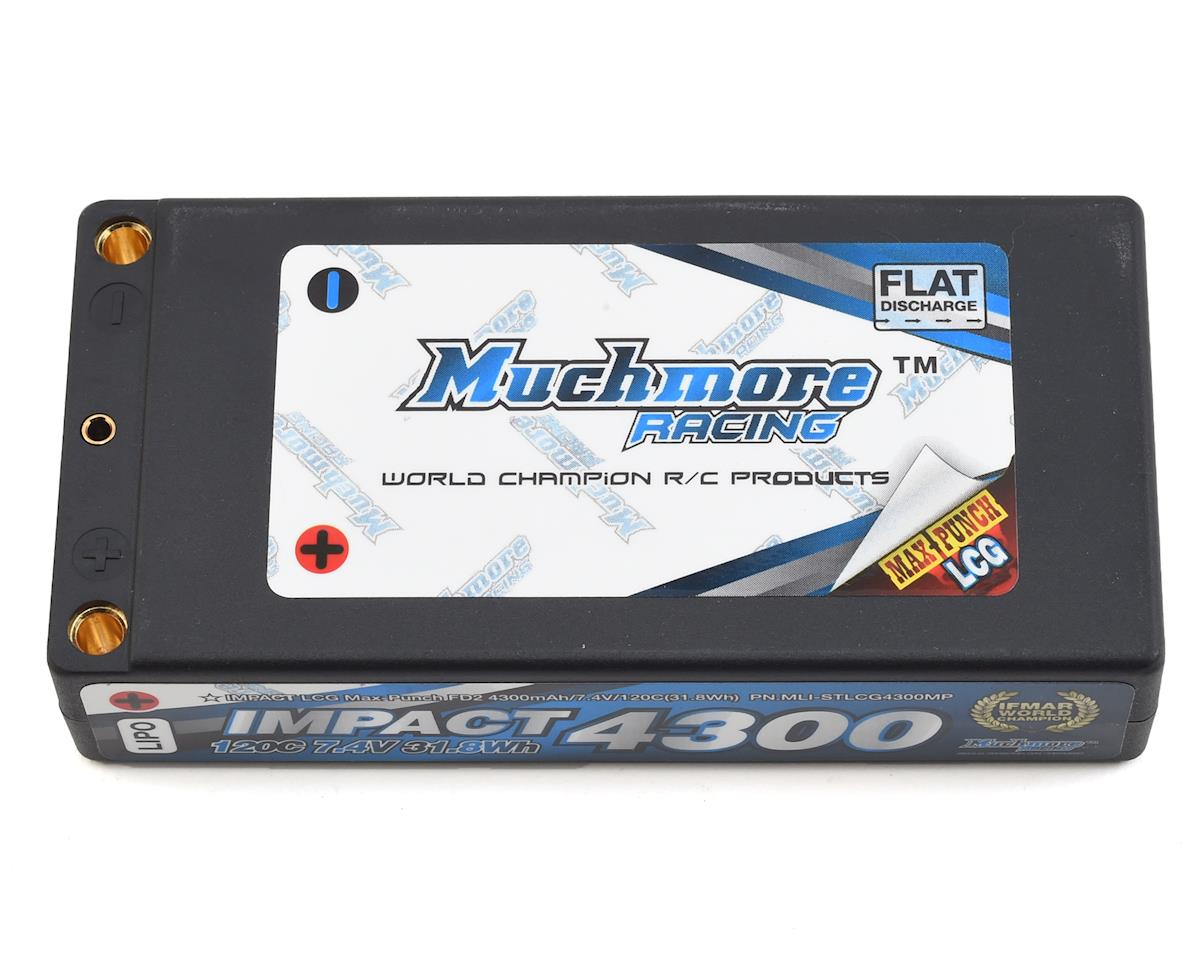 Impact 2S LCG Shorty LiPo Battery Pack (7.4V/4300mAh)