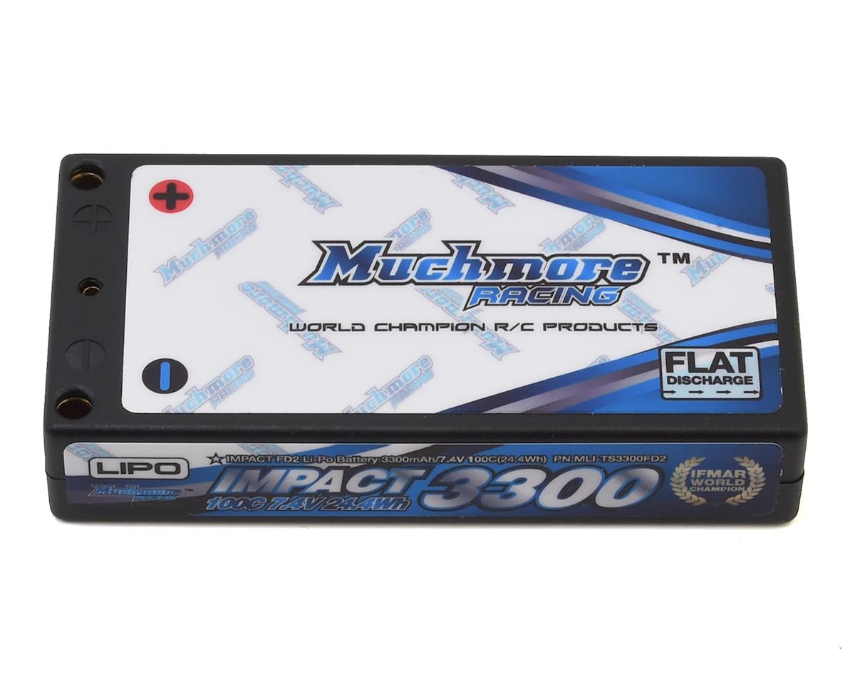 Muchmore Impact FD2 2S LiPo Battery Pack 60C (7.4V/3300mAh)