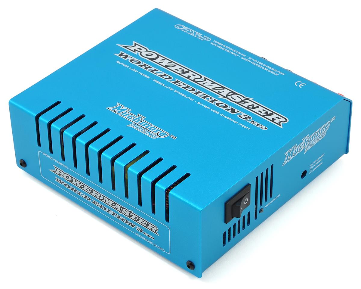 Muchmore Racing CTX-P Power Master III World Edition 24A Power Supply (Blue)
