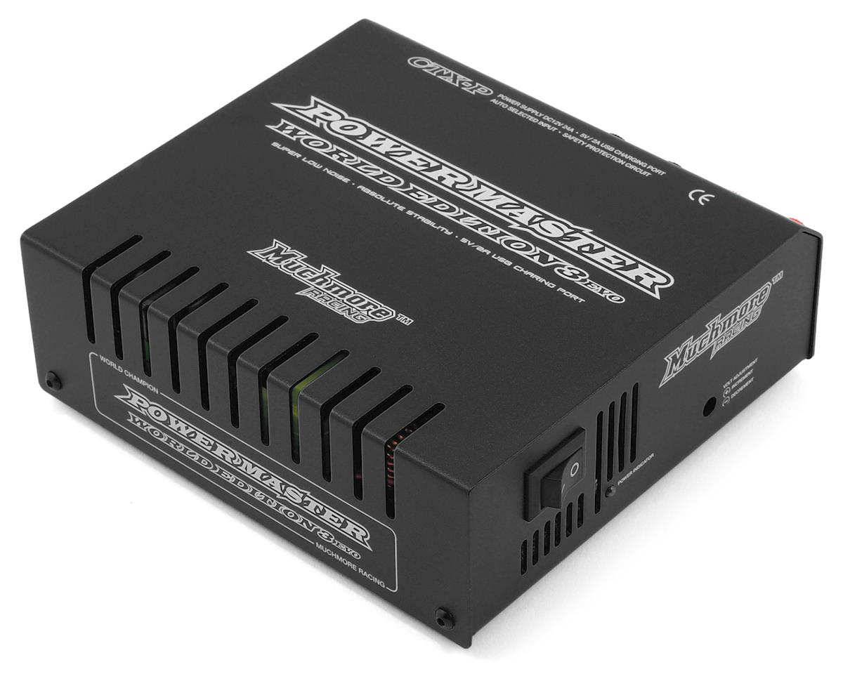 Muchmore Racing CTX-P Power Master III World Edition 24A Power Supply (Black)