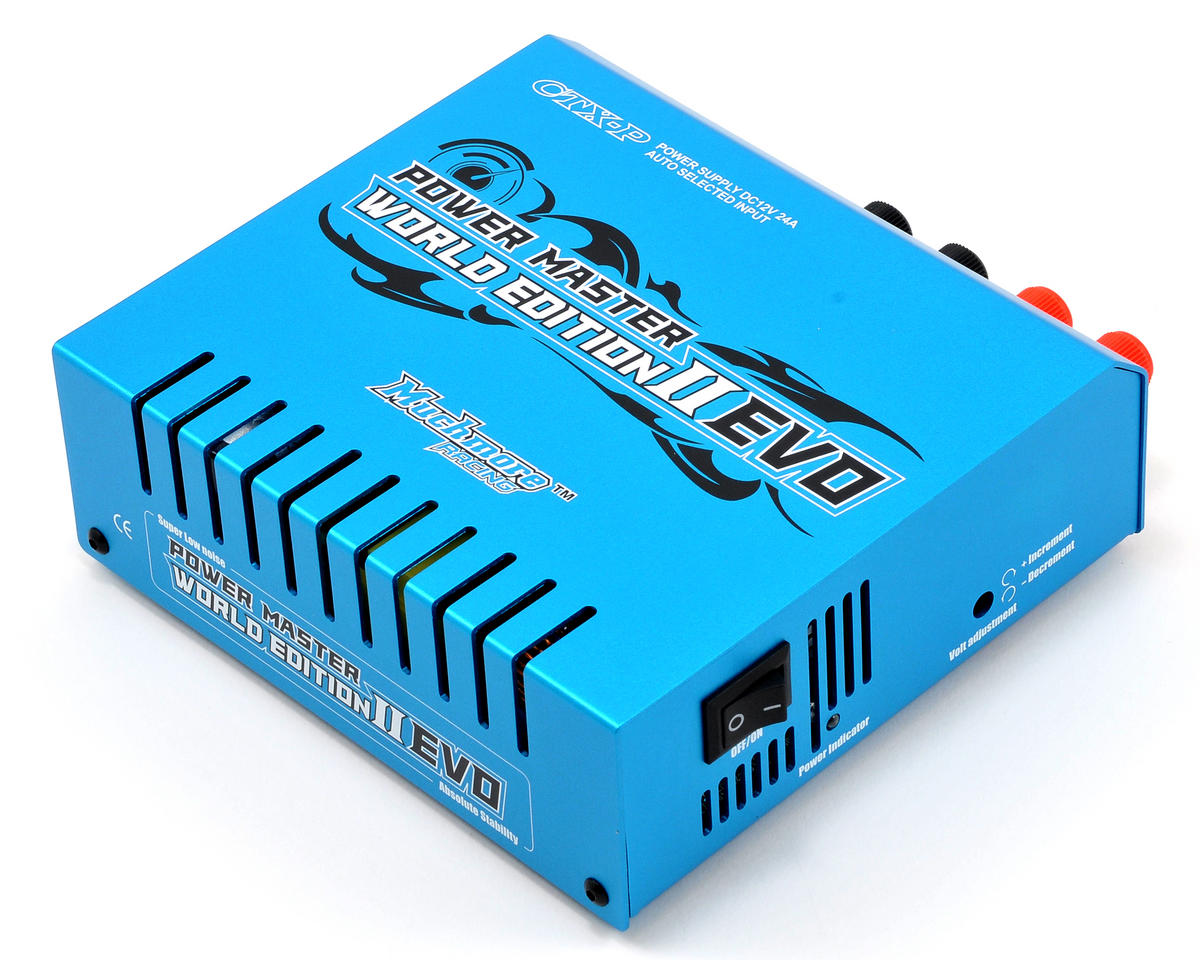 Muchmore Racing Power Master World Edition 2 EVO Power Supply (Blue) (12V/24A)