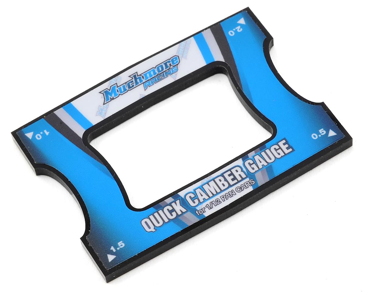 Muchmore Racing Quick Camber Gauge (0.5, 1.0, 1.5, 2.0) (1/12 Pancar)