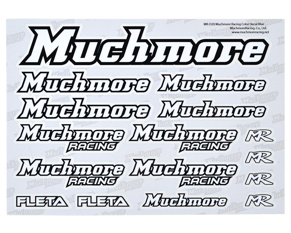 Muchmore Racing Decal Sheet (White)