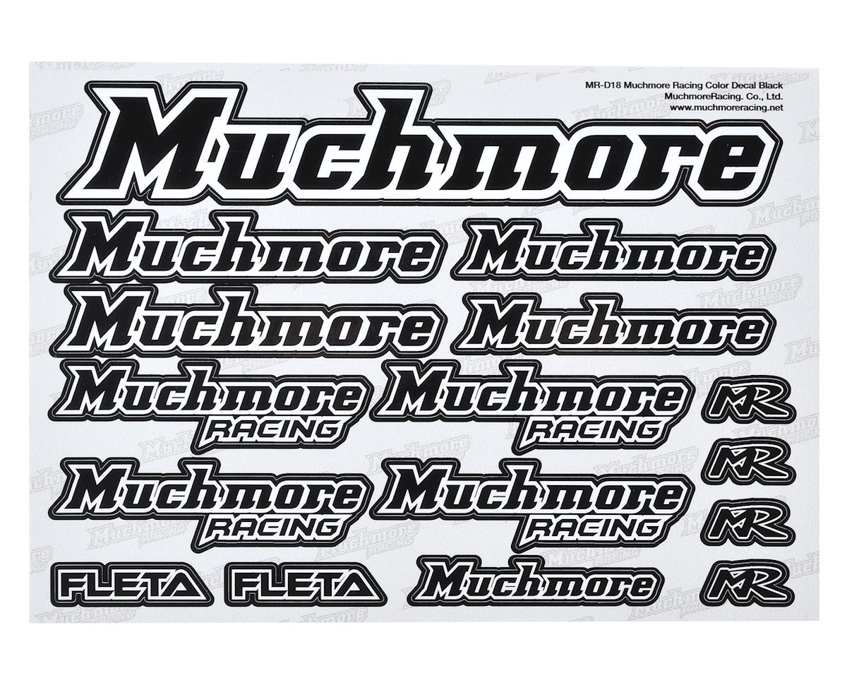 Muchmore Racing Decal Sheet (Black)