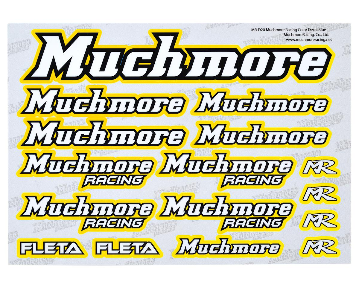 Muchmore Racing Decal Sheet (Yellow)