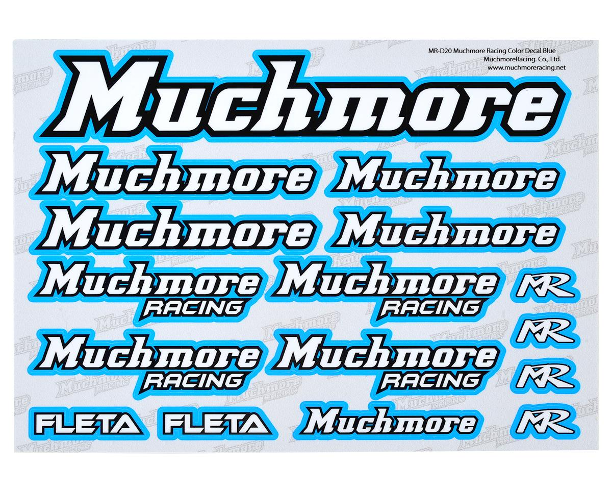 Muchmore Racing Decal Sheet (Blue)