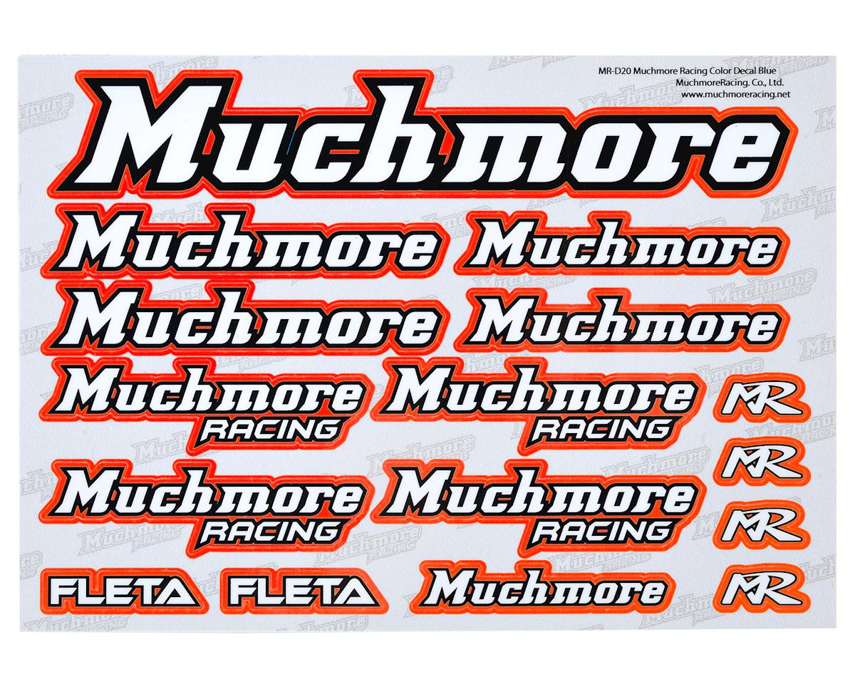 Muchmore Racing Decal Sheet (Red)