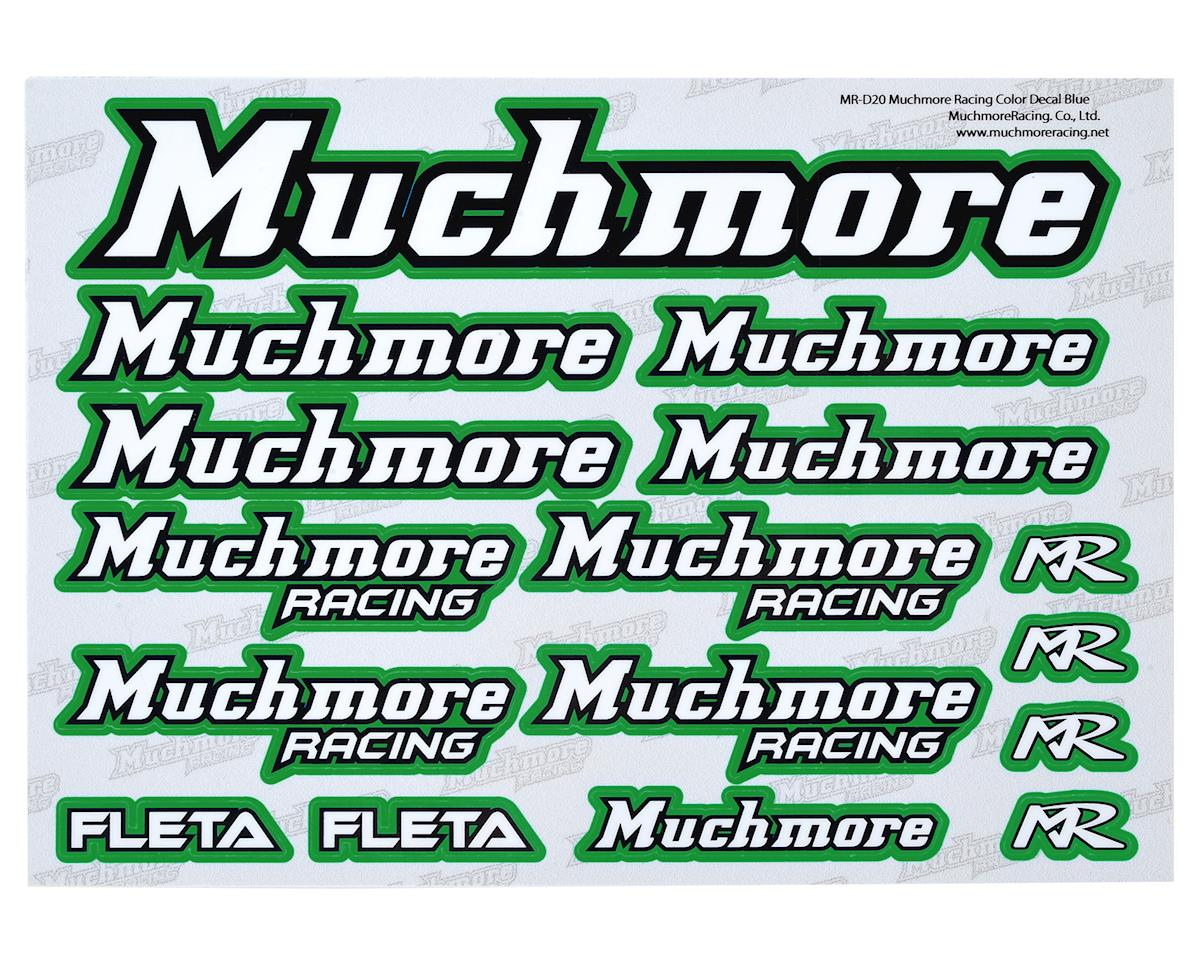 Muchmore Racing Decal Sheet (Green)