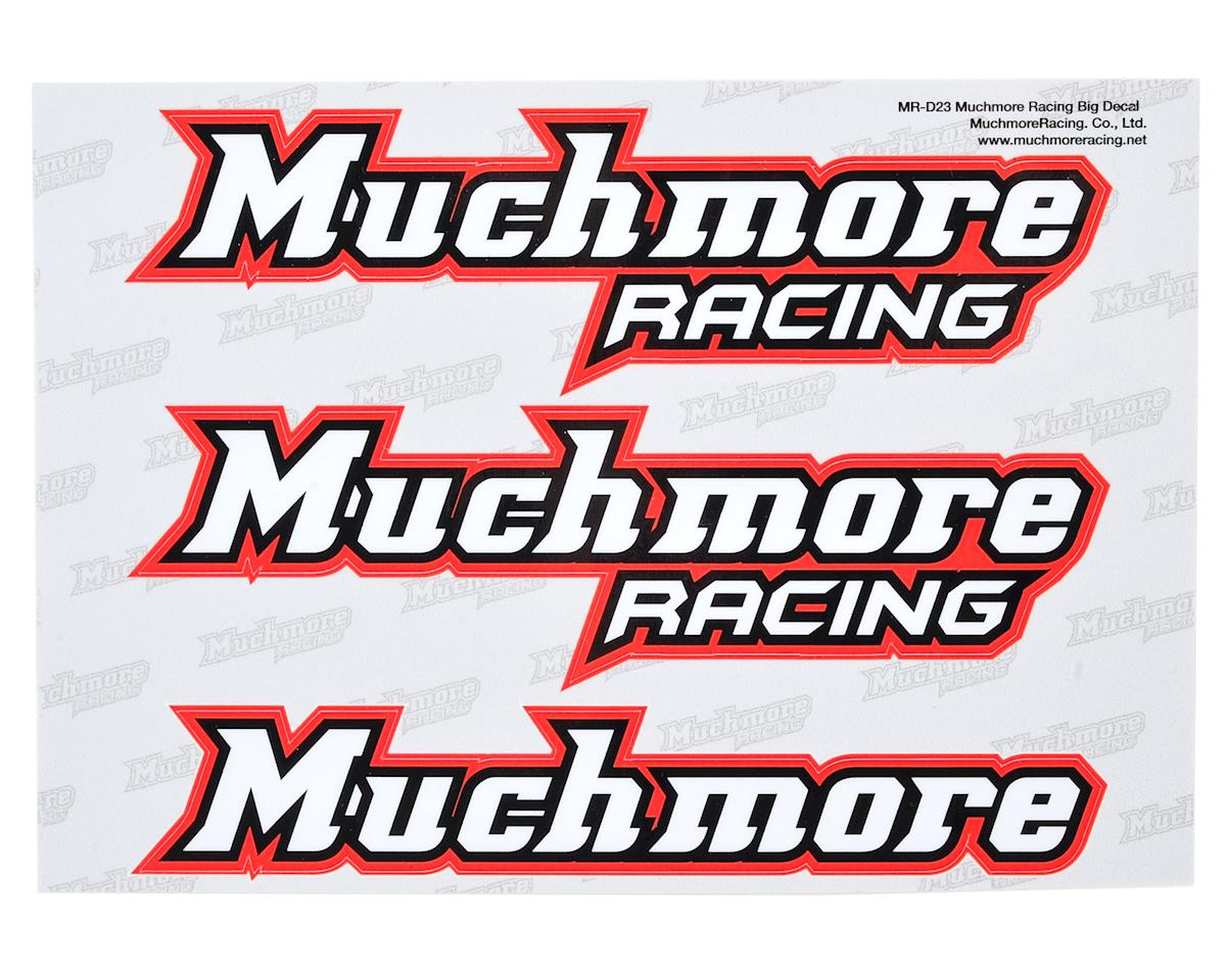 Muchmore Racing Large Decal Sheet (Red)