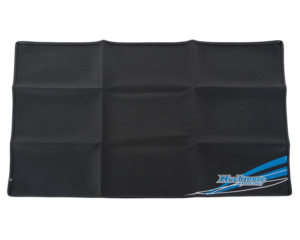 Muchmore Racing Black Suit Pit Mat (Black) (90x60cm)