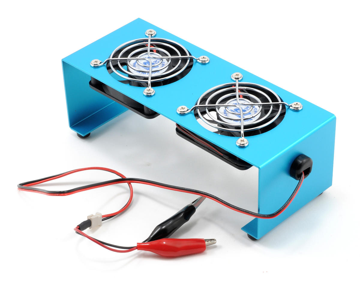 Muchmore Racing 12V Cooling Fan Stand (Blue)