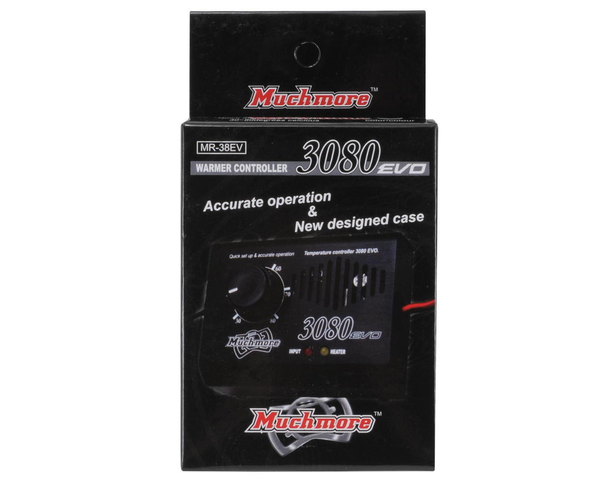 Muchmore Tire Warmer Controller (Black)