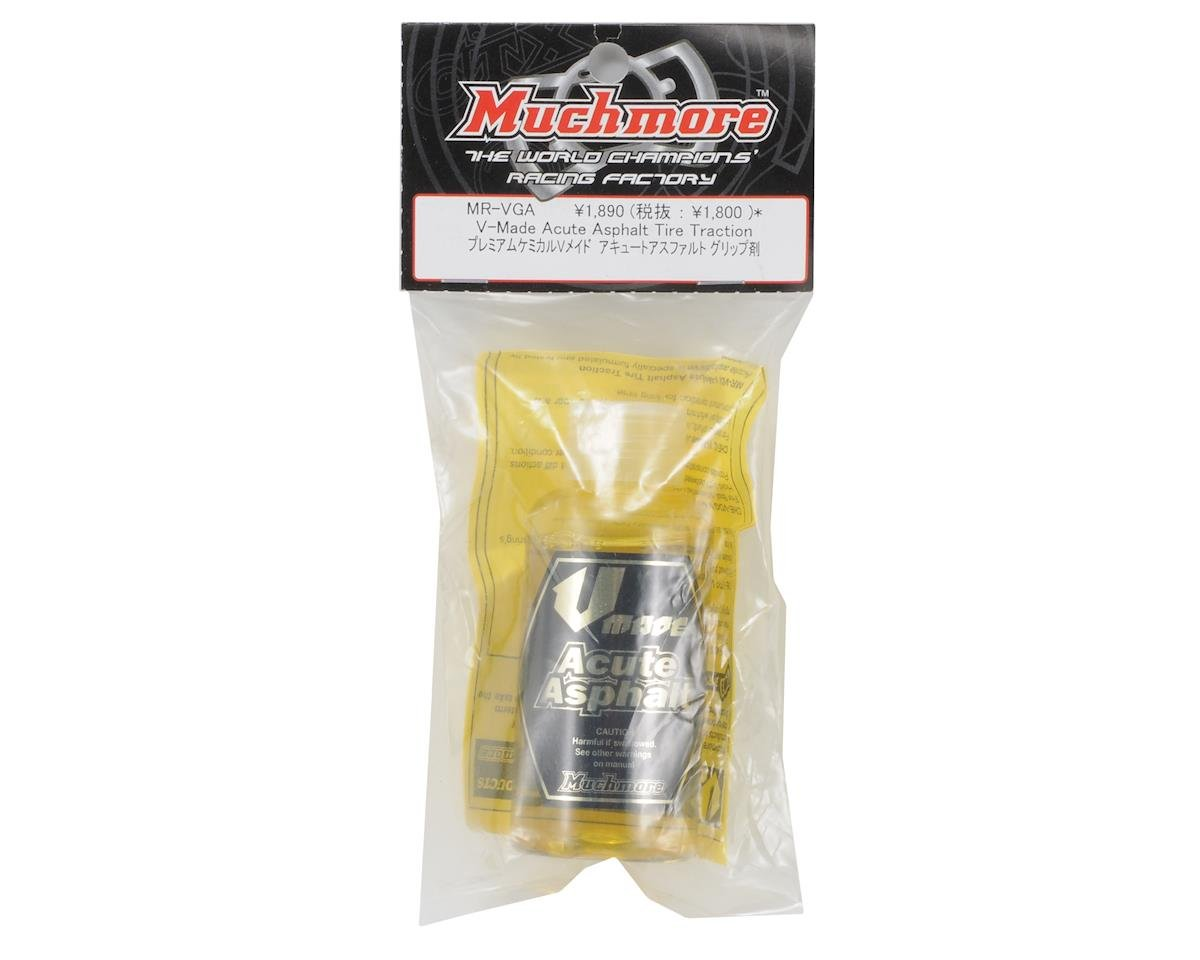 Muchmore V Made Acute Asphalt Tire Traction Additive