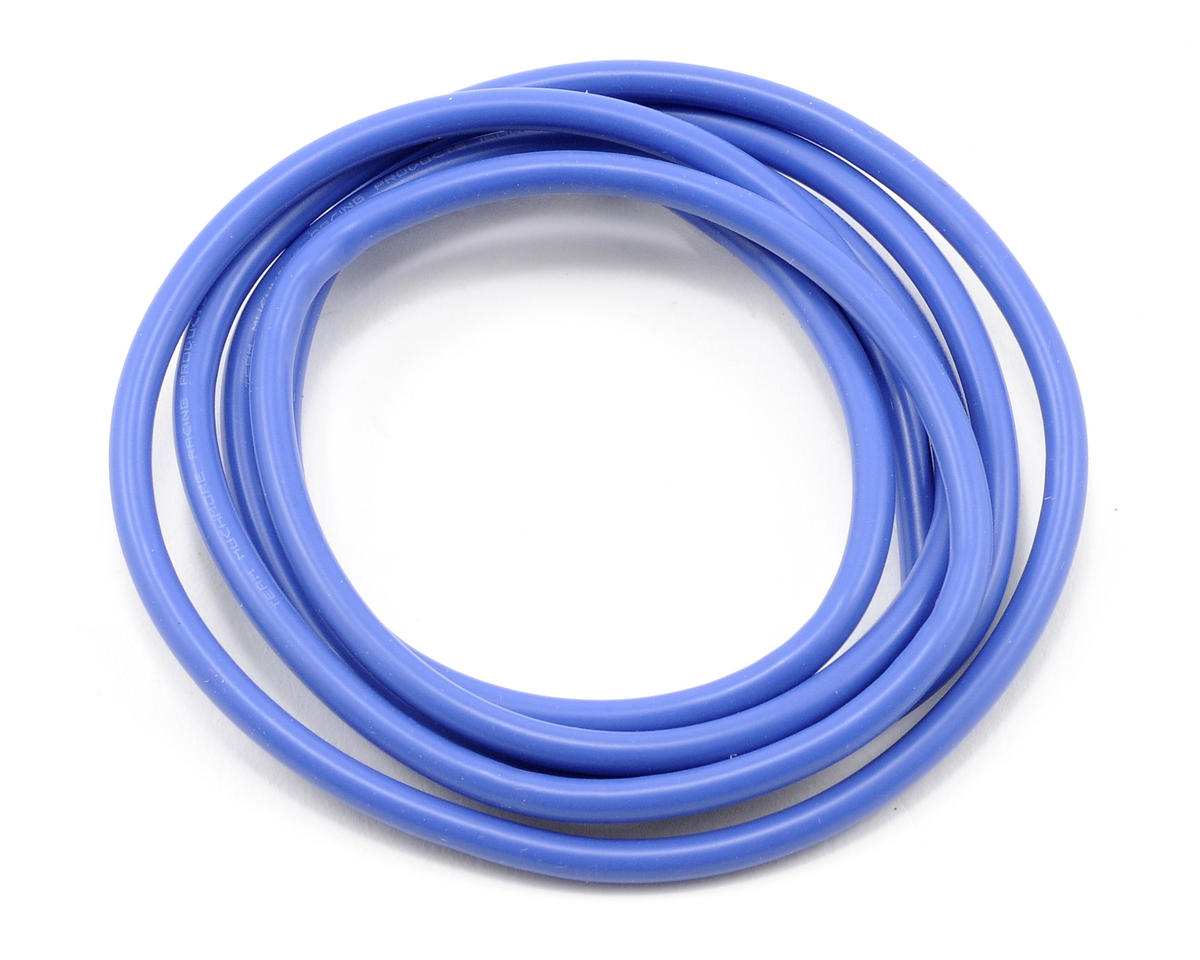 16awg Silver Wire Set (Blue) (90cm) by Muchmore Racing