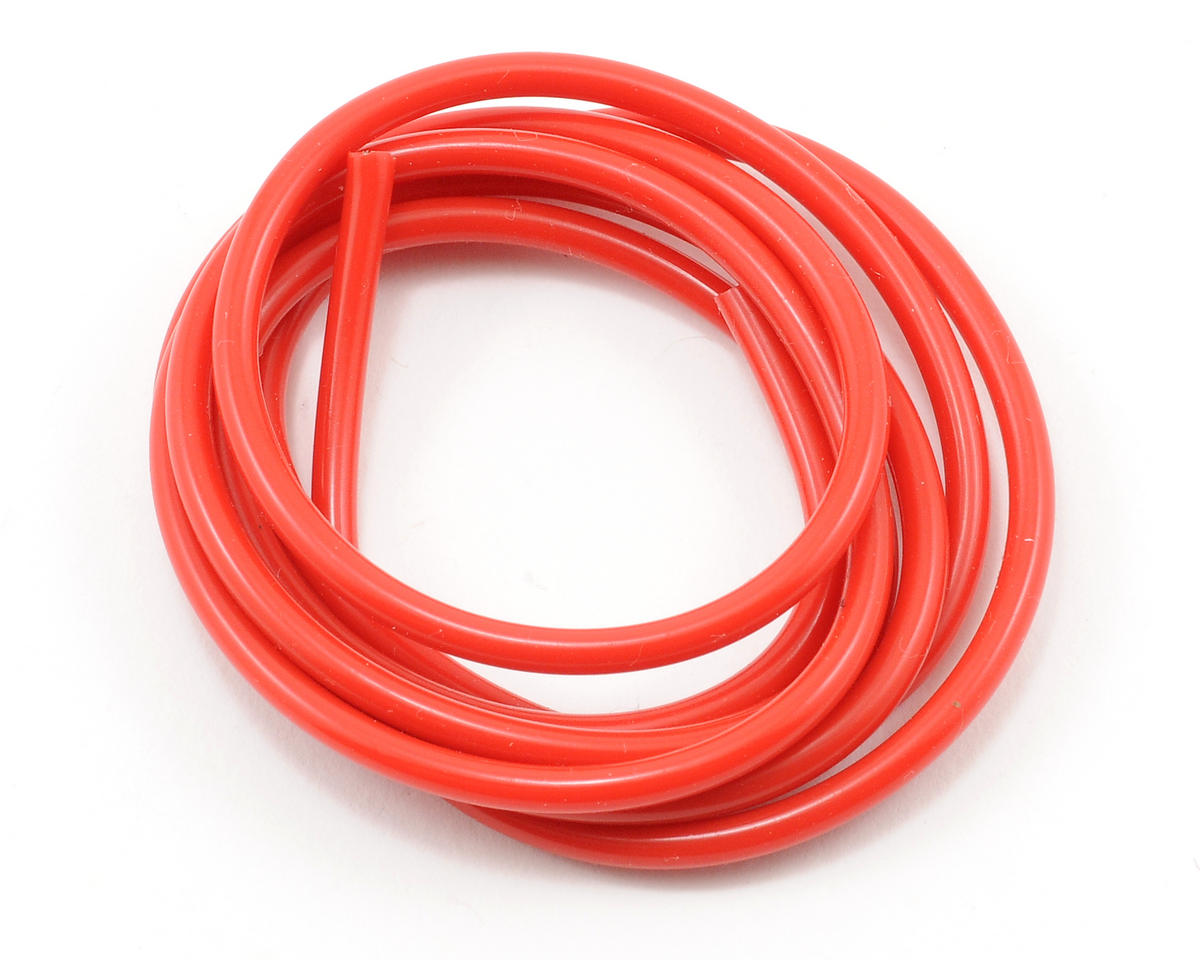Muchmore Racing 18awg Silver Wire (Red) (90cm)