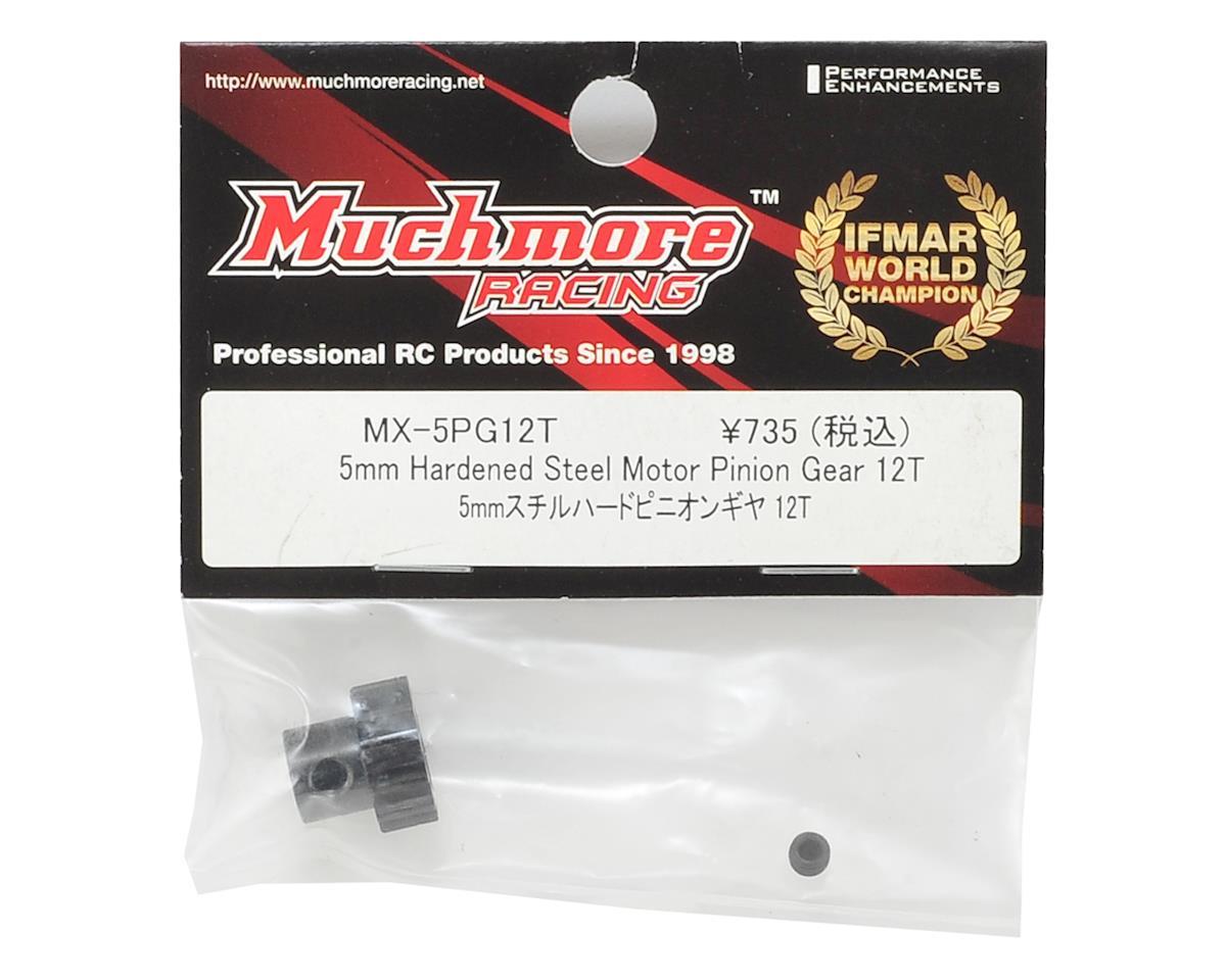 Muchmore Racing Hardened Steel Mod 1 Pinion Gear w/5mm Bore (12T)