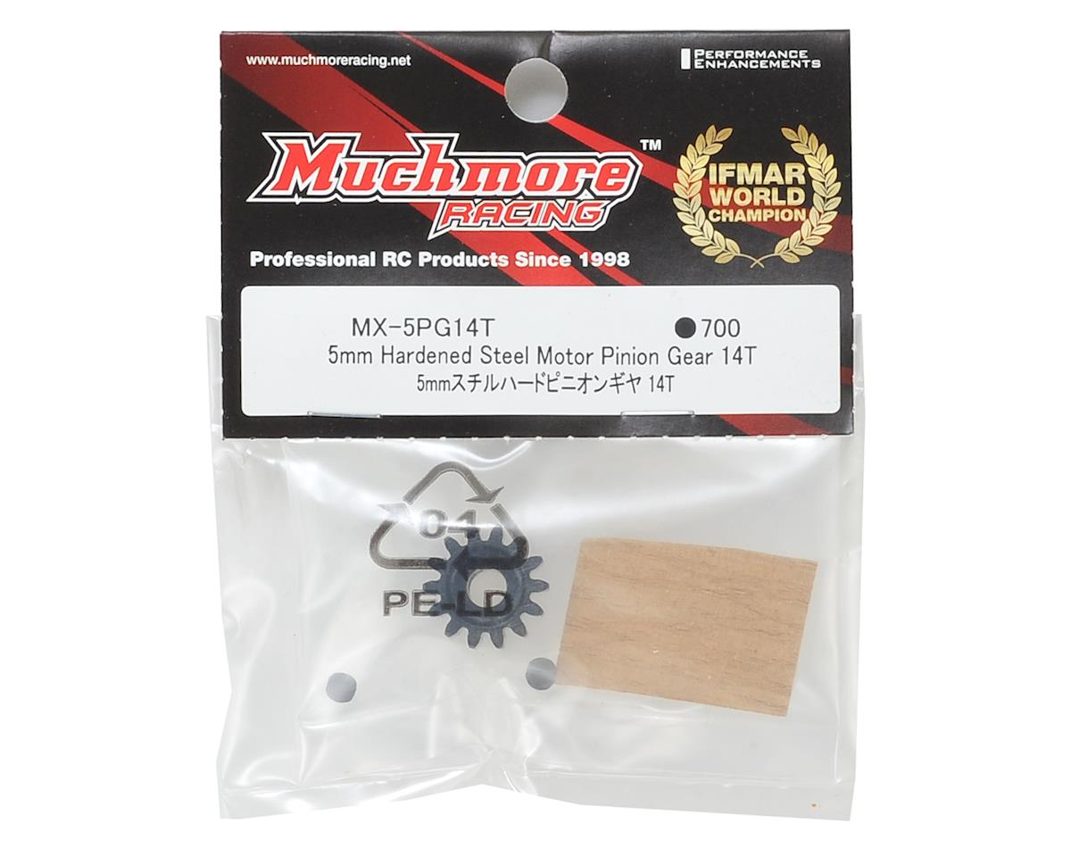 Hardened Steel Mod 1 Pinion Gear w/5mm Bore (14T) by Muchmore