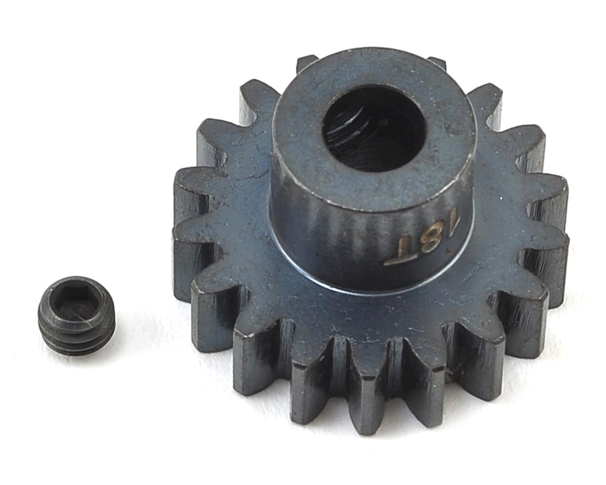 Hardened Steel Mod 1 Pinion Gear w/5mm Bore (18T) by Muchmore