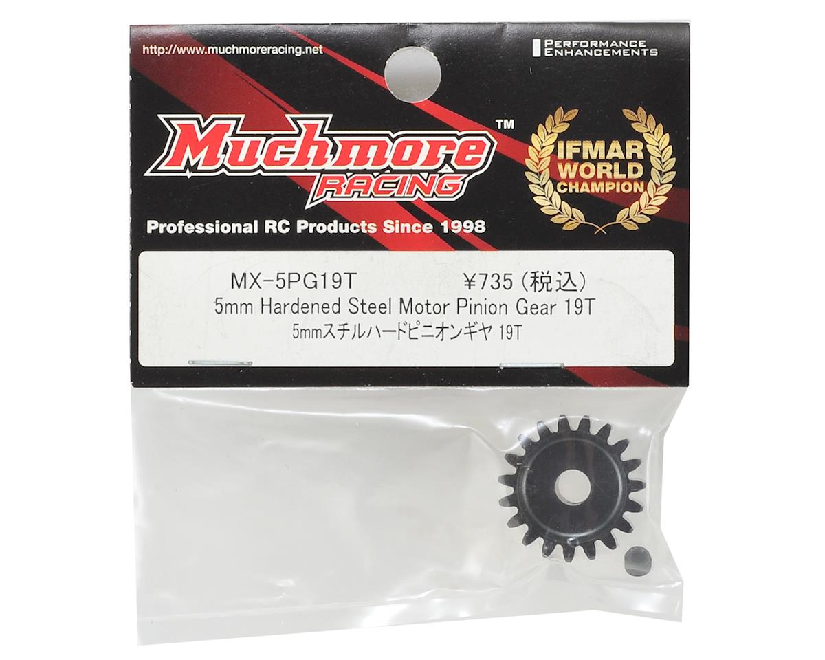 Muchmore Hardened Steel Mod 1 Pinion Gear w/5mm Bore (19T)