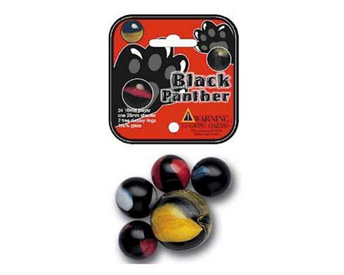 Mega Marbles  Black Panther Game Net 24 + 1