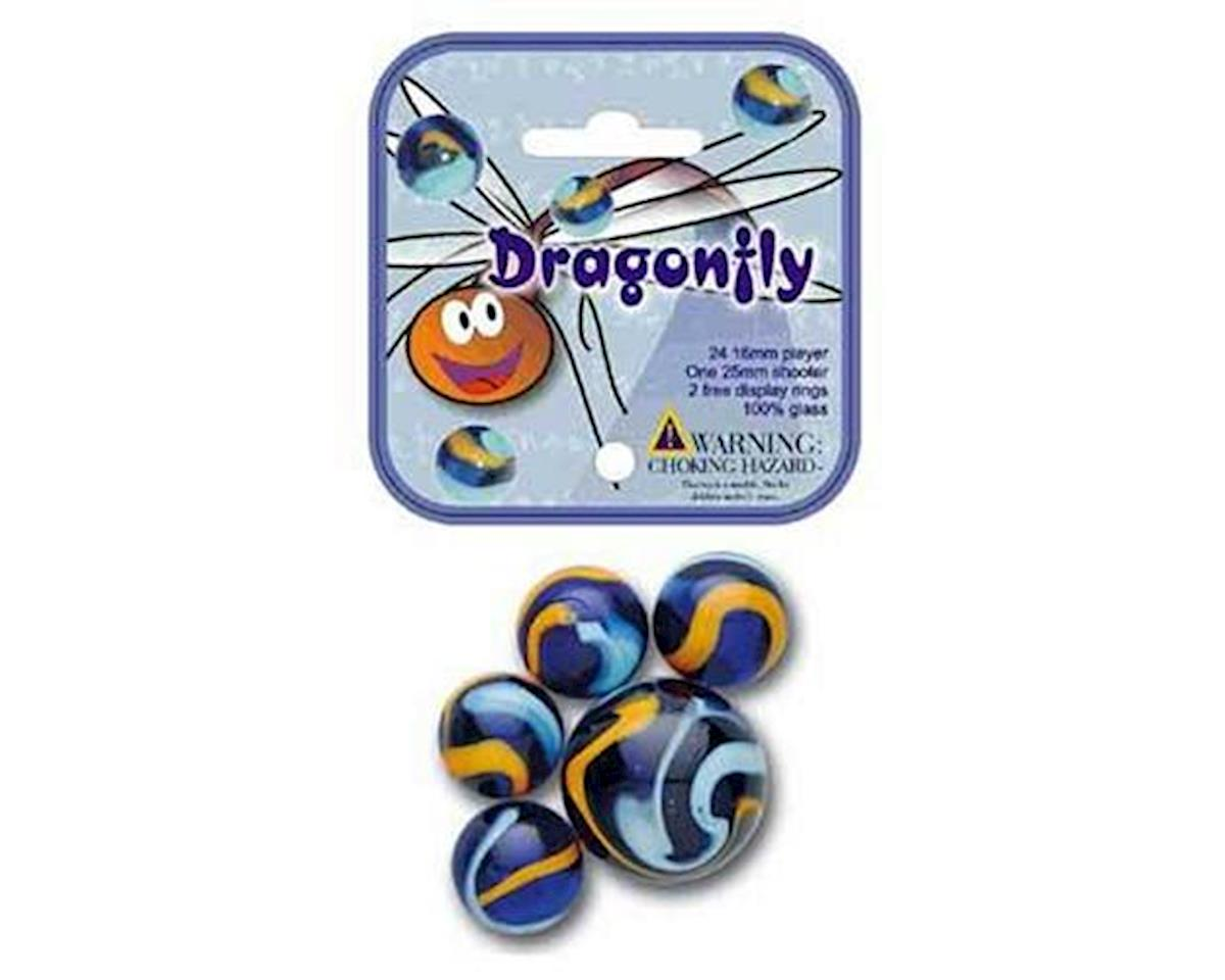 Mega Marbles  Dragonfly Game Net 24 + 1