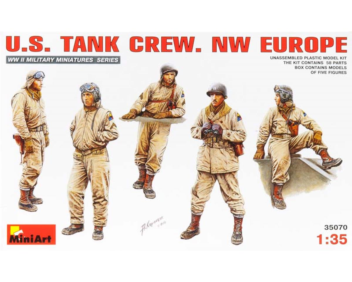 35070 1/35 US Tank Crew NW Europe (5) by MiniArt